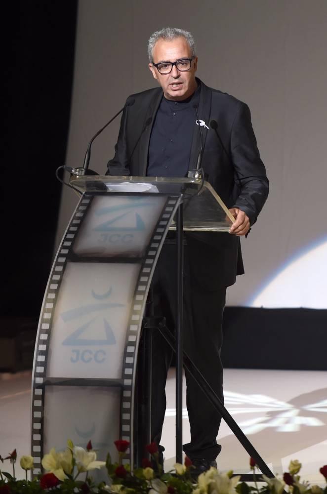 Réalisateur prolifique, Ibrahim Letaïef a aussi dirigé Les Journées cinématographiques de Carthage (JCC). ©  AFP / Fethi Belaid