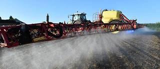 Pulvérisation en France d'herbicide concernant du glyphosate  ©JEAN-FRANCOIS MONIER