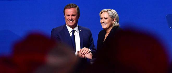 Marine Le Pen et Nicolas Dupont-Aignan rois des fake news.