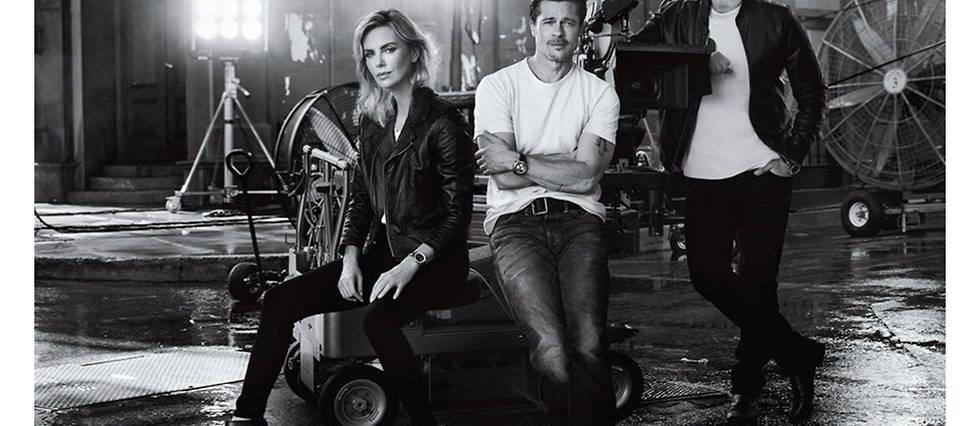 Brad Pitt et Charlize Theron: Breitling leur donne des ailes?