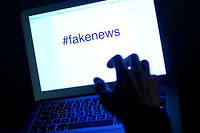Fake news (photo d'illustration).