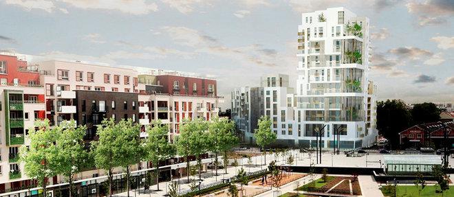 L'innovation urbaine de la place du Front-Populaire traduit la mixite voulue du Grand Paris.