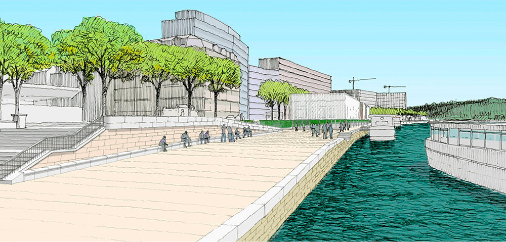 Reconquête. Le projet, qui réhabilite les berges du port, fera la part belle aux promeneurs.