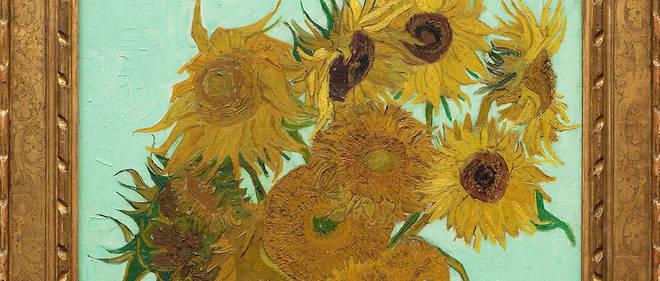 La série de tableaux représentant un bouquet de tournesols dans un vase, peints entre 1888 et 1889 par Vincent van Gogh lorsqu'il vivait à Arles, dans le sud de la France, fait partie des plus célèbres oeuvres de l'artiste.