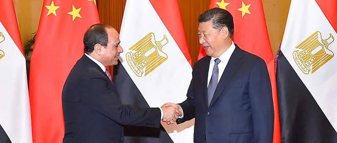 Xi Jinping et Abdel Fattah al-Sissi lors du Forum Chine-Afrique, à Pékin, le 3 septembre 2018.