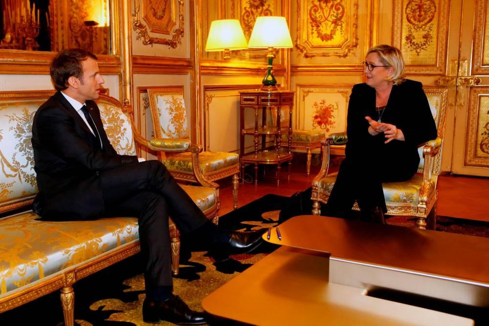 FRANCE-MACRON-GOVERNMENT-PARTIES-FN © FRANCOIS MORI AFP