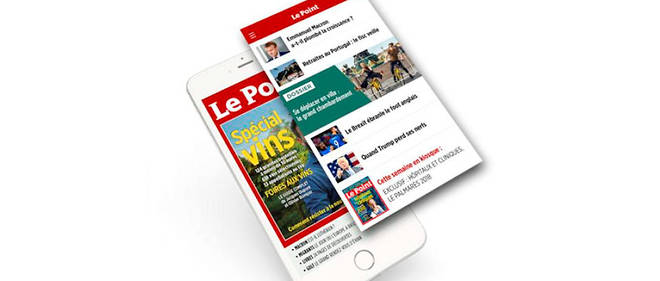 L'application du « Point » a reçu le label d'excellence par Harris Interactive.