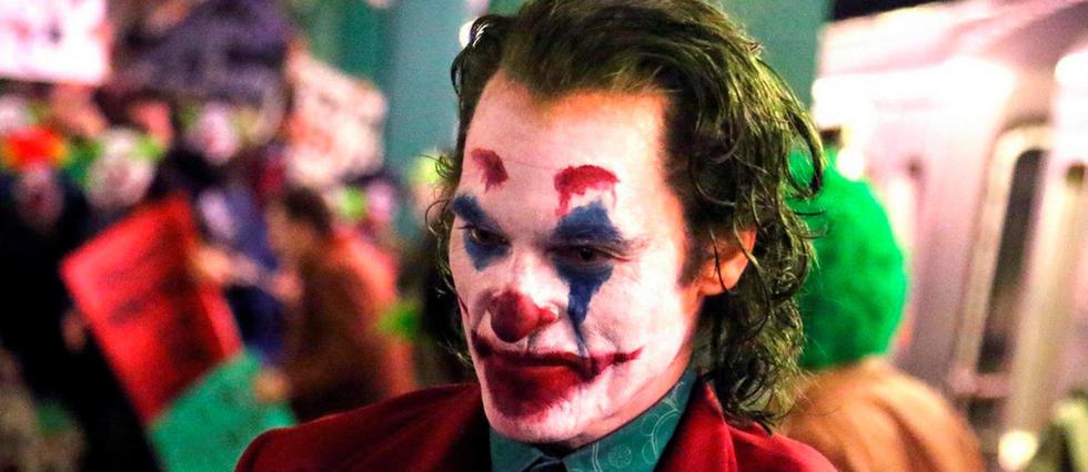 <p>Joaquin Phoenix sur le tournage de Joker.</p>