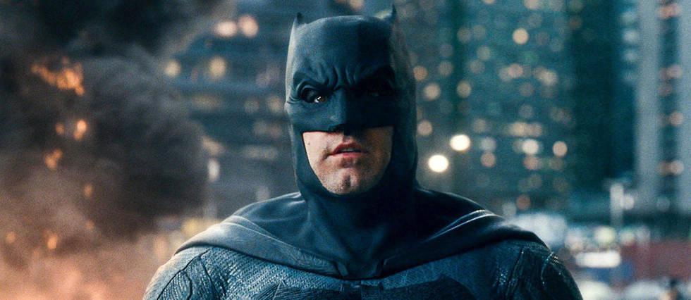 <p>Ben Affleck en Batman dans le film Justice League (2017).</p>