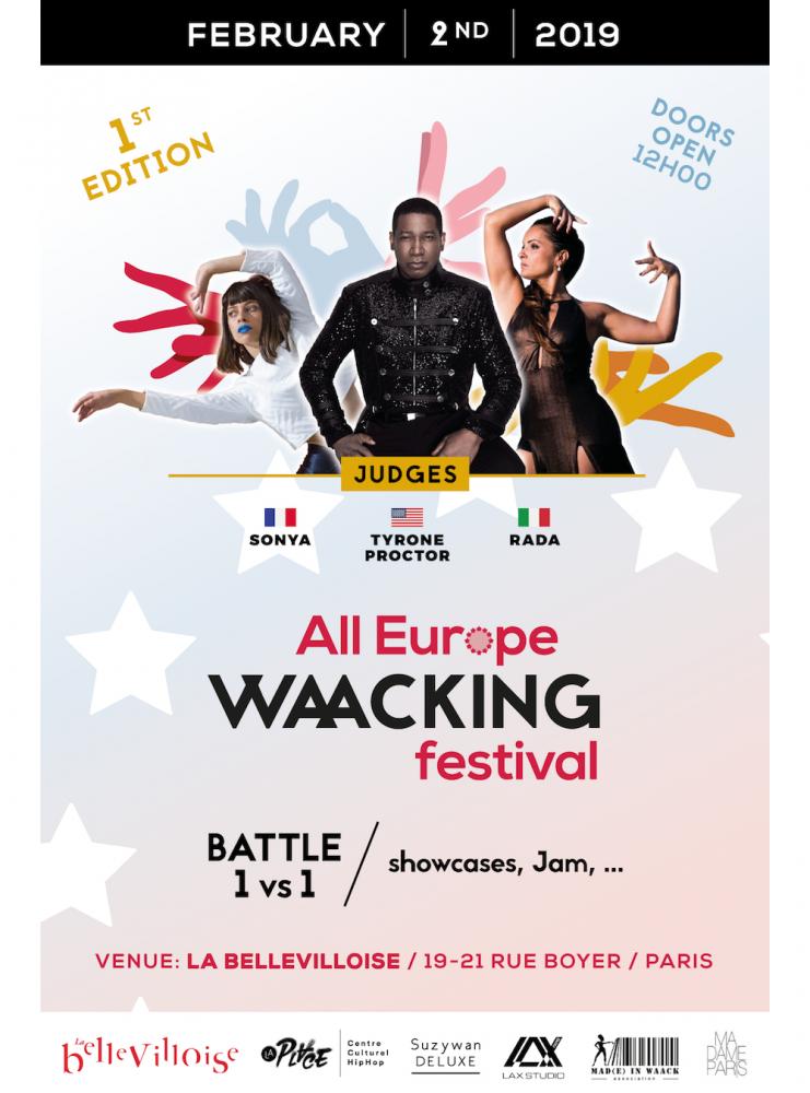 Josépha Madoki est l'initiatrice du All Europe Waacking festival qui se déroulera à Paris le 2 et 3 février 2019.  ©  DR