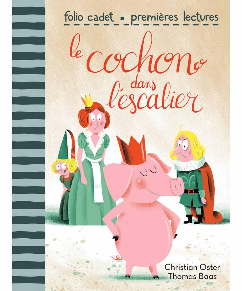 Le cochon dans l'escalier © Gallimard
