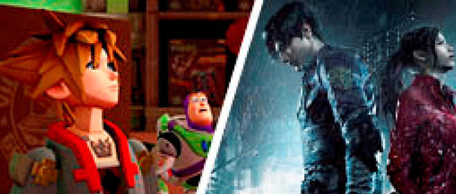 Planète geek- Le match «Kingdom HeartsIII»-«Resident Evil2» : qui va séduire les fans ?