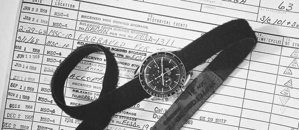 <p>Il y a cinquante ans, la Speedmaster Professional devenait la Moon Watch !</p>