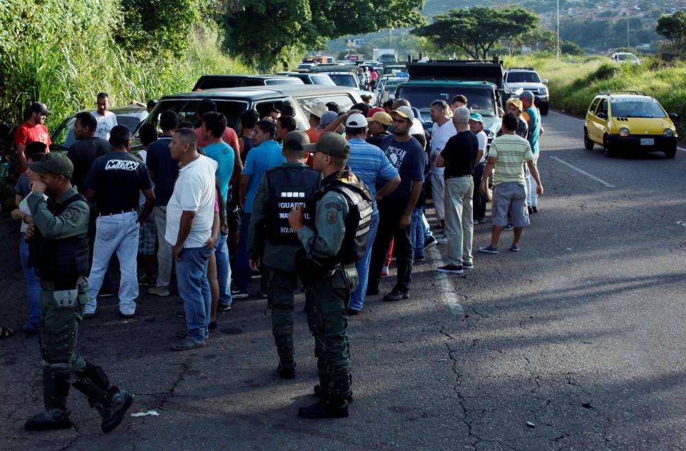 Crise essence Venezuela ©  OSCAR DUQUE / AFP