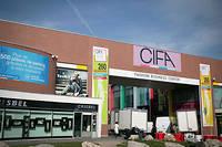Le Cifa d'Aubervilliers, un centre commercial où sont regroupés plusieurs centaines de grossistes chinois  ©JOEL SAGET