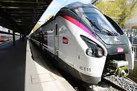 Les nouvelles rames Coradia des trains Intercités, fabriquées par Alstom, ici gare de de l'Est.  ©ERIC PIERMONT