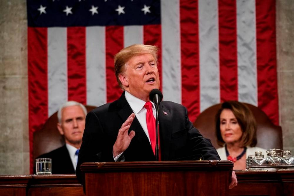 Trump Delivers State of the Union Address © DOUG MILLS / AFP