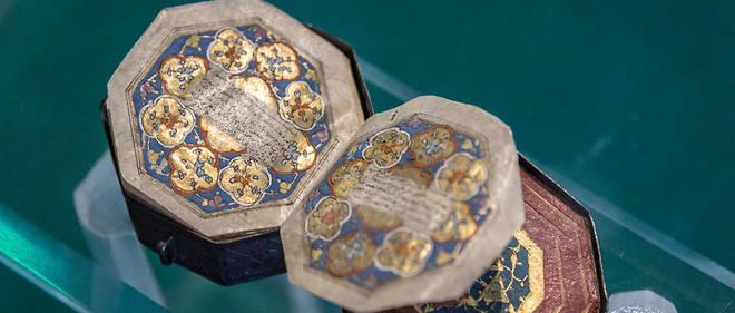 Un Coran antique miniature exposé au musée turc de Mevlana (photo d'illustration).