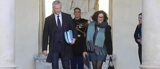Bruno Le Maire et Emmanuelle Wargon n'ont pas la même largeur de vues à propos du diesel de dernière génération ©LUDOVIC MARIN