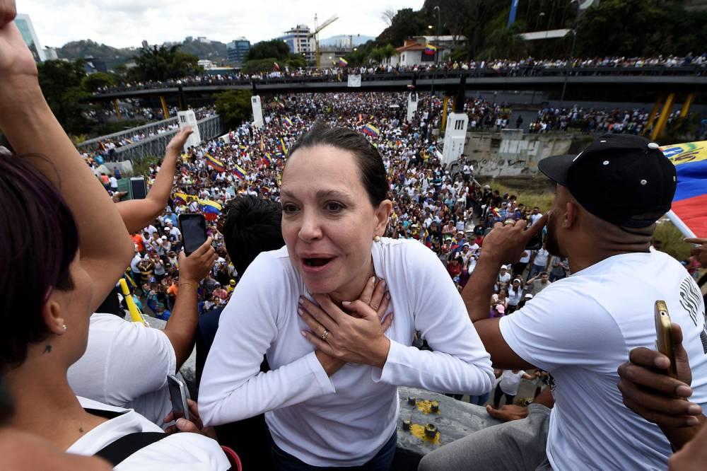 Maria Corina Machado ©  FEDERICO PARRA / AFP