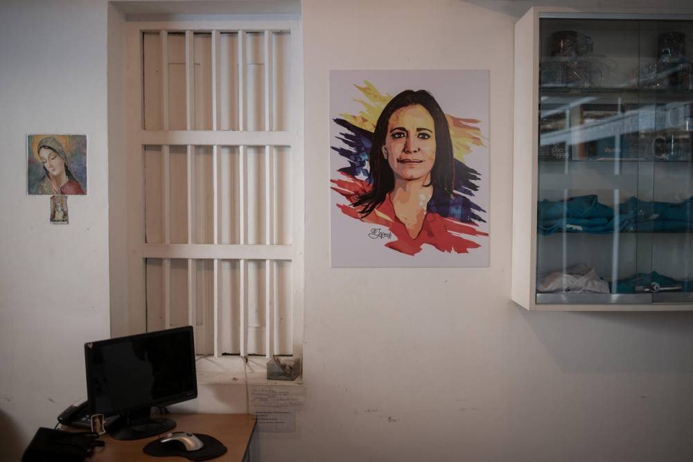 María Corina Machado ©  Fabiola Ferrerocafiero