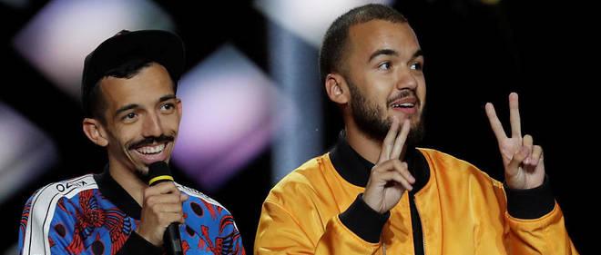 Les deux rappeurs ont remporté le titre d'artistes masculins de l'année.