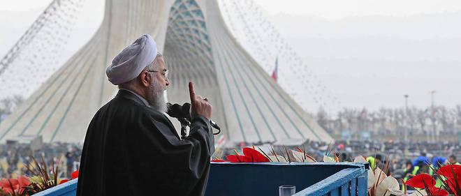 Le président iranien s'est adressé à une gigantesque foule d'habitants de Téhéran.