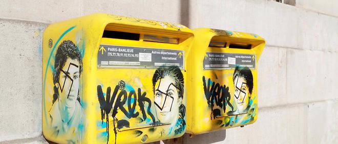 Les boîtes aux lettres ornées de portraits de Simone Veil se trouvent dans le 13e arrondissement.