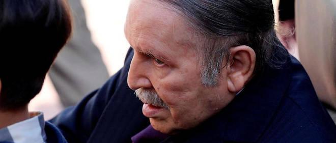 Le président Bouteflika en novembre 2017. Même affaibli, il a été désigné pour un cinquième mandat.