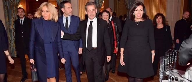 Brigitte Macron, Nicolas Sarkozy et Anne Hidalgo unis pour lutter contre le cancer des enfants.