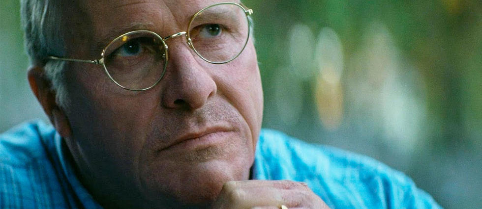 <p>Christian Bale en Dick Cheney dans Vice</p>