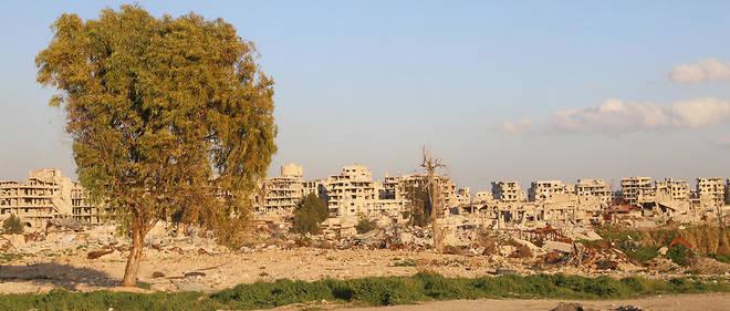 La Ghouta orientale débute sa lente reconstruction.