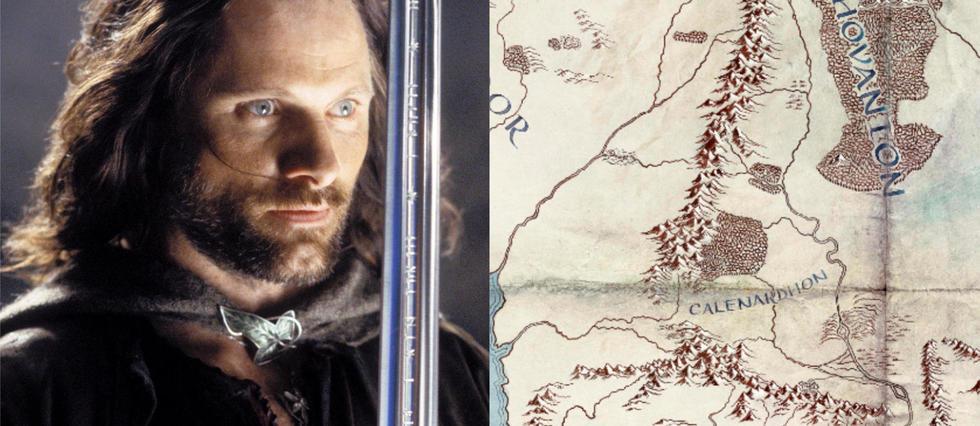<p>Amazon dévoile une carte de la terre du Milieu pour promouvoir sa série «Le Seigneur des anneaux».</p>