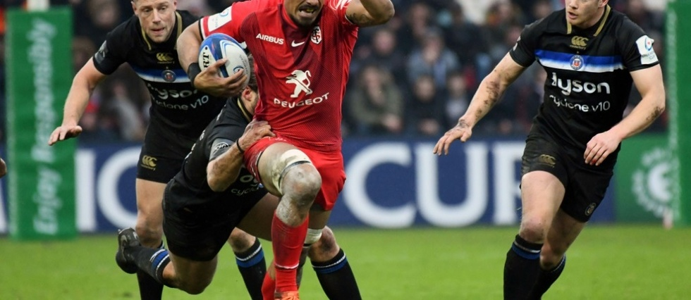 "Top 14: Jerome Kaino (Toulouse) absent ""deux a trois semaines"""