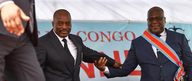 Des sources proches des Felix Tshisekedi et de Joseph Kabila ont confirme que les deux hommes avaient aborde la question de << la mise en place d'une coalition >> politique.