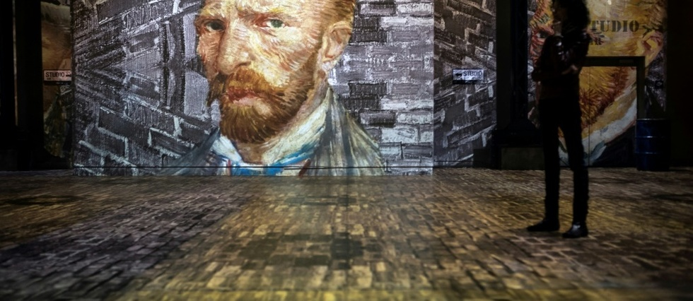 Van Gogh en immersion a l'Atelier des Lumieres
