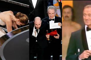 Les plus belles bourdes des Oscars.