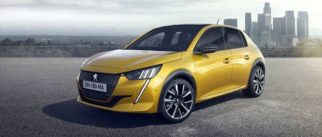 La Peugeot 208 de deuxième génération arrivera en concessions à la fin 2019 et sera aussi proposée en version électrique.