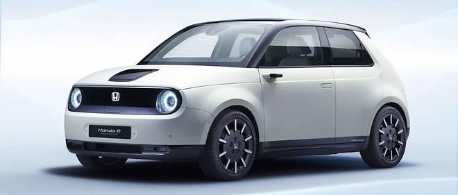 """Le """"e-Prototype"""" présenté à Genève préfigure une citadine 100 % électrique que Honda commercialisera début 2020."""
