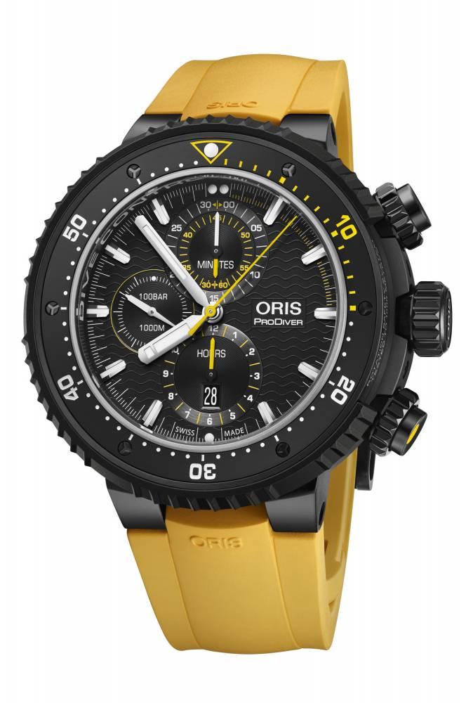 Oris, montre de plongée ©  DR