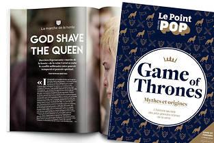 Le hors-série du Point Pop consacré à Game of Thrones est disponible en kiosque et sur notre boutique en ligne