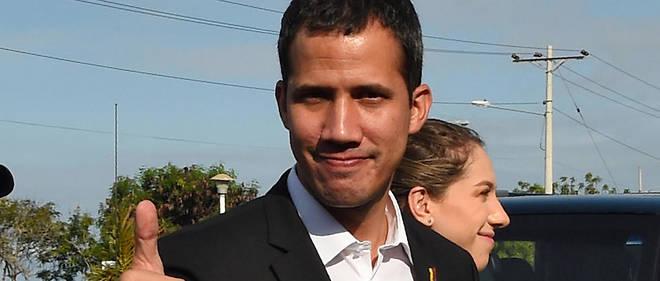 Juan Guaidó évoque notamment l'éviction de l'ambassadeur allemand au Venezuela.