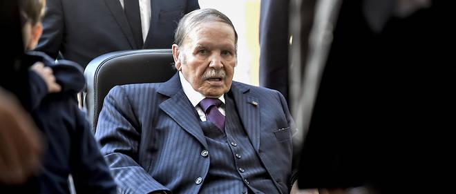 Le président Abdelaziz Bouteflika, le 23 novembre 2017.