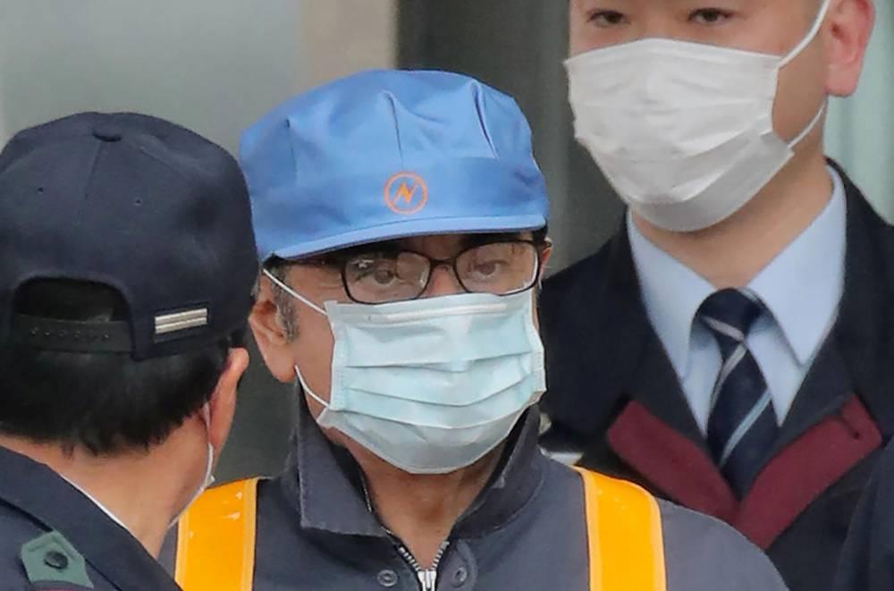 Carlos Ghosn, Reanult-Nissan, Japon ©  JIJI PRESS / JIJI PRESS / AFP