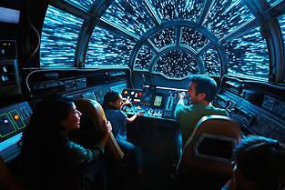 Des nouvelles images de Star Wars Galaxy's edge.