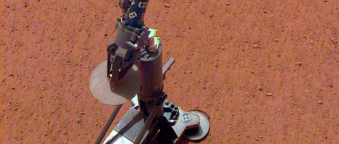 L'instrument HP3 a été déployé à la surface de Mars le 12 février 2019.