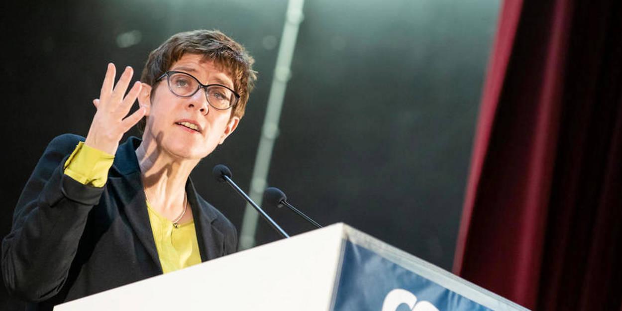 La nouvelle patronne de la CDU, Annegret Kramp-Karrenbauer, a lâché plusieurs pavés dans la mare dans une tribune publiée le 10 mars dans le journal dominical «Welt am Sonntag».