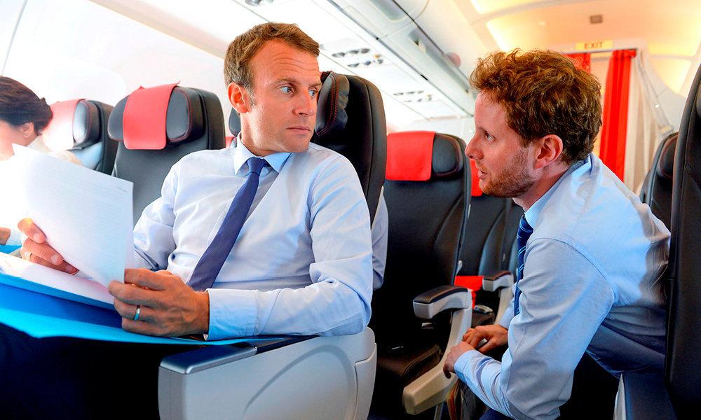 Tandem. En 2015, avec Emmanuel Macron, alors ministre de l'Economie. Il l'avait rejoint à Bercy pour prendre le poste de conseiller chargé des affaires européennes.