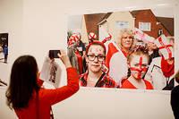 L'exposition, présentée à la National Portrait Gallery, montre le résultat du dernier projet du photographe : des portraits pris dans des bastions pro-Brexit.