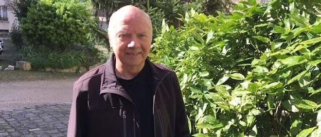 Monseigneur Jacques Gaillot, 84 ans, photographié à Paris le 11 mars 2019.